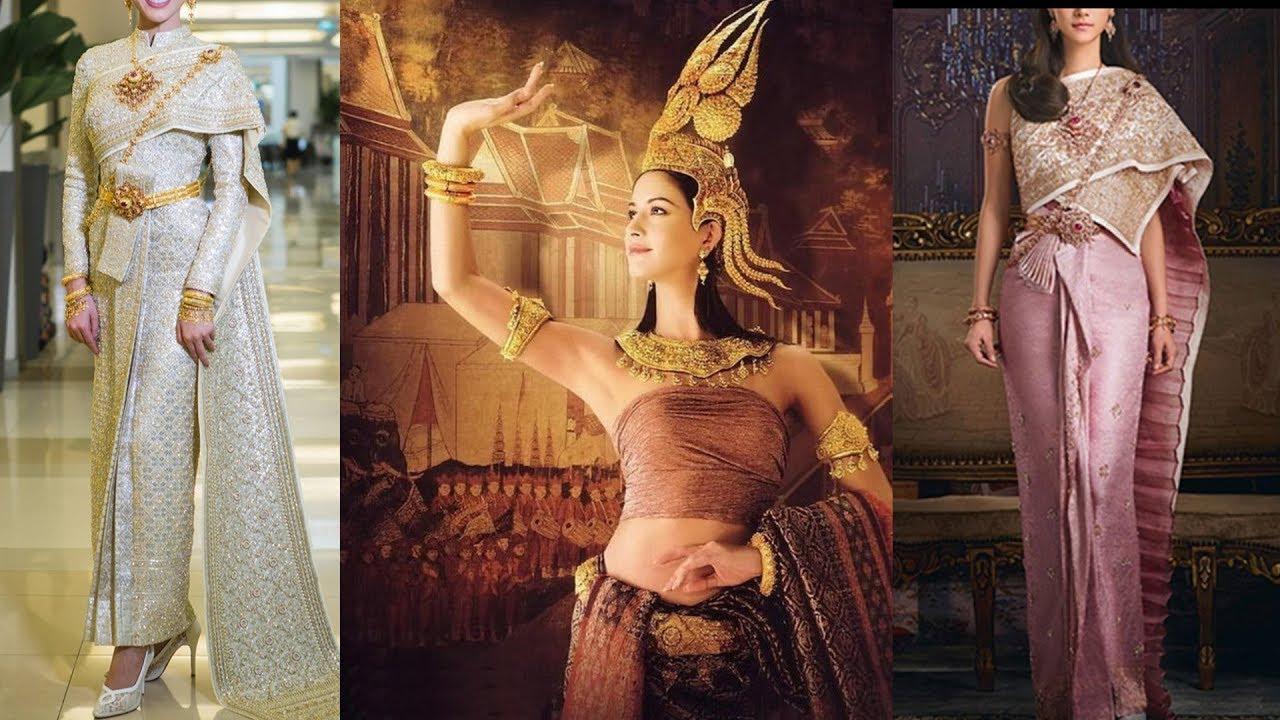 Traditional Thai National Costumes 泰國傳統民族服飾 - YouTube