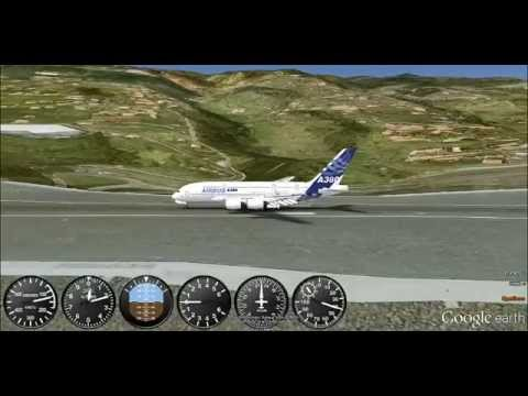 how to fly in flight simulator google earth
