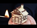 How to Make a Match House Without Glue a