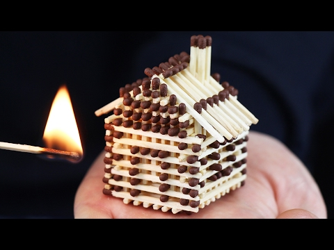 Thumbnail: How to Make a Match House Without Glue and Burn it Down