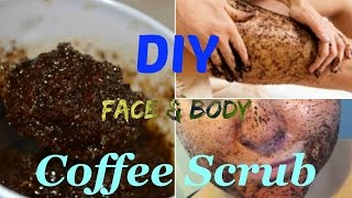 DIY Coffee Scrub for Exfoliating body💗Cellulite💗Stretch Marks 💗Its Benefits💗Lovely Beauty Tips