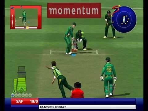Shahid Afridi to Graeme Smith  EA Sports Cricket 2013 Ramiz Raja Commentary Patch A2 Studios