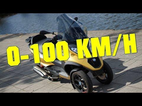 2019 Piaggio MP3 500 Sport Advanced 0-100 KMH 0-60 MPH
