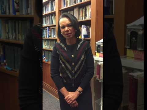 "Condoleezza Rice, ""Drowsiness is Red Alert!"""