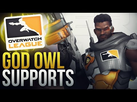 BEST SUPPORT MOMENTS IN OVERWATCH LEAGUE  - Overwatch Montage