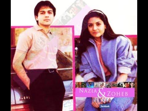 nazia and zoheb MAI AAYA TERE LIYE 1986: HQ re-edited music