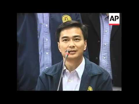 Thai opposition parties announce election boycott