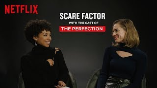 The Perfection Cast Explains How to Escape From a Murderer   Netflix