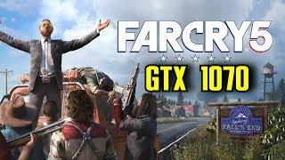 Far Cry 5 GTX 1070 OC | 1080p & 1440p Ultra Settings | FRAME-RATE TEST