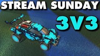 vuclip Rocket League   Stream Sunday 3v3 (Freestyle Gameplay)
