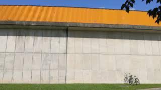 20190827 スタルヒン球場(花咲スポーツ公園硬式野球場) 外野席外観