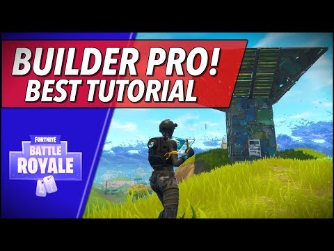 How To Use The NEW BUILDER PRO! (Fortnite Battle Royale Tutorial)