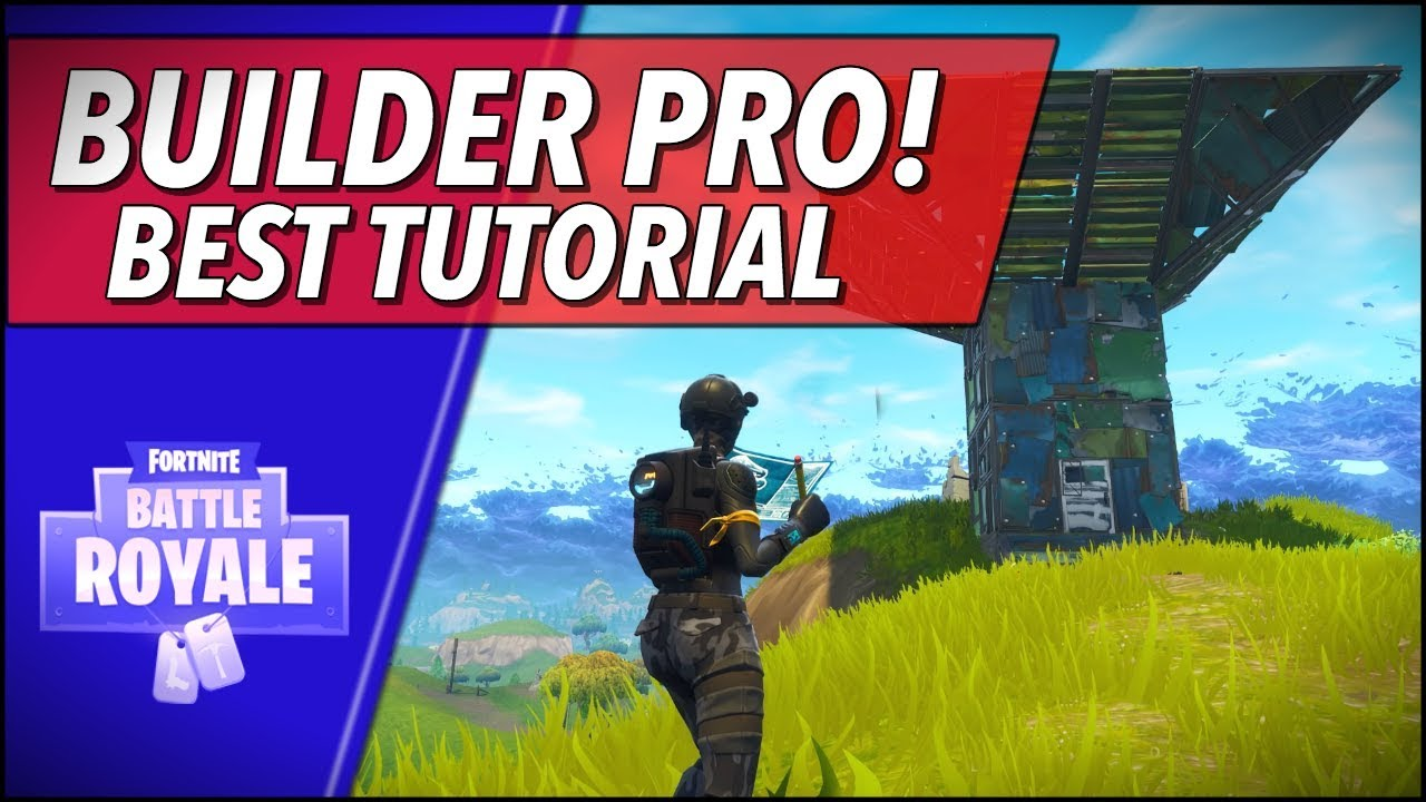 How To Use The New Builder Pro Fortnite Battle Royale Tutorial