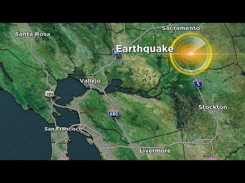 Earthquake hits San Francisco Bay Area