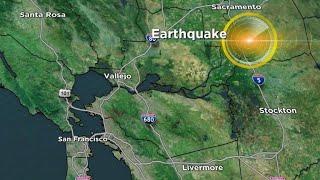 Earthquake hits San Francisco Bay Area