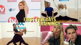 What's our first dance on strictly!? + First day of training!!