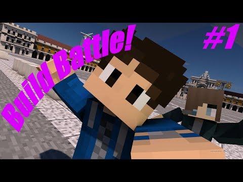 ": : Hypixel Build Battle #1 : : ""AARON BEATS NATHAN"""