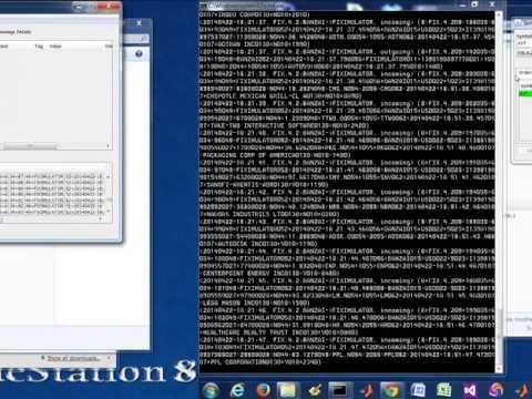 Demo of FIX exchange environment using QuickFIX Java open source