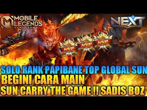 PERJALANAN SOLO RANK MEREBUT TOP 1 INDONESIA SUN LAGI BY PAPIBANE
