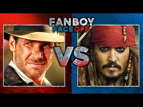 Indiana Jones vs Pirates of the Caribbean: Fanboy Faceoff