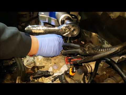 G9U Hydraulic Injector Removal