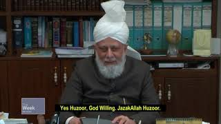 Huzoor's next visit to Qadian?
