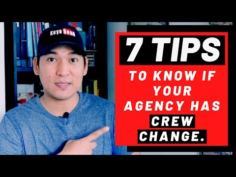7 TIPS to know if your Manning/Shipping Agency has CREW CHAN