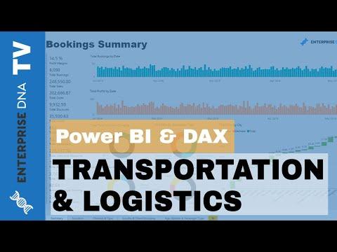 Transportation & Logistics - Power BI Showcase