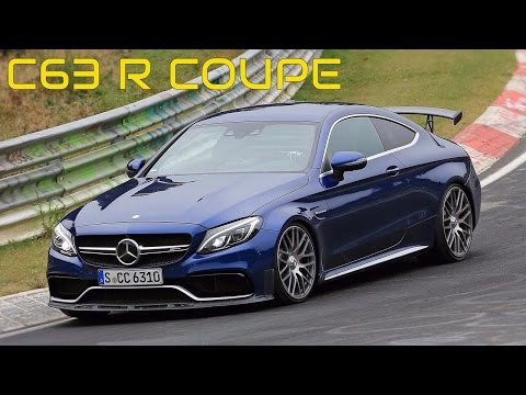2018 mercedes amg c63 r coupe spy shots and video. Black Bedroom Furniture Sets. Home Design Ideas