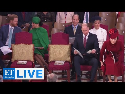 'Ice-Cold' Royal Reunion At Commonwealth Day Ceremony | ET Canada LIVE