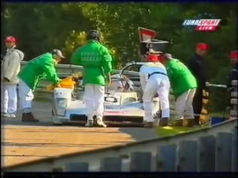 1999 - Le Mans - The Audi R8C finally succumbs