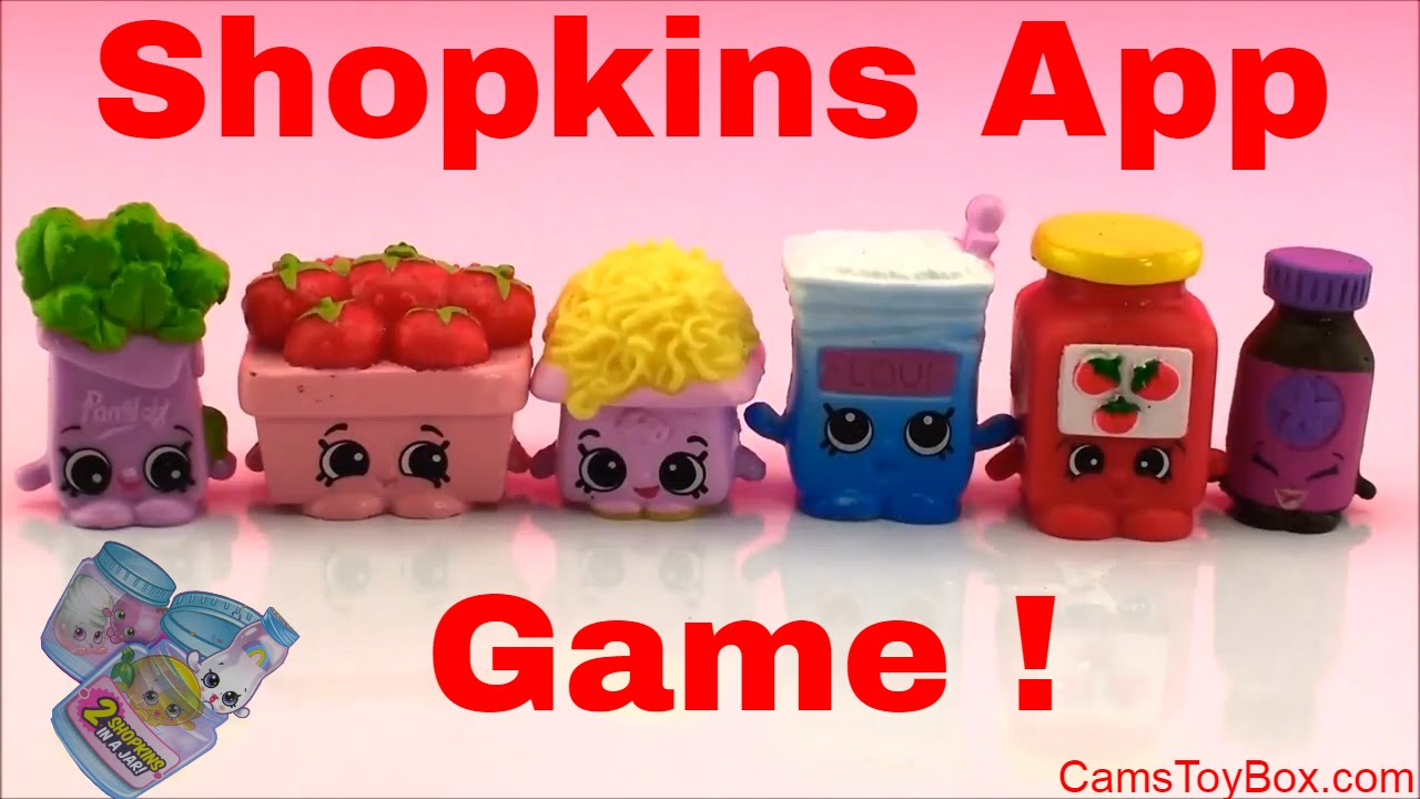 How To Play And Scan Shopkins App Game Chef Club Season 6 Fun Surprise Toys For Kids Playing Youtube