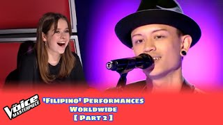 'FILIPINO' Singers Blind Audition in The Voice [PART 2]