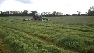 mark rickards at the silage 2011 in co meath athboy part 2 mowing
