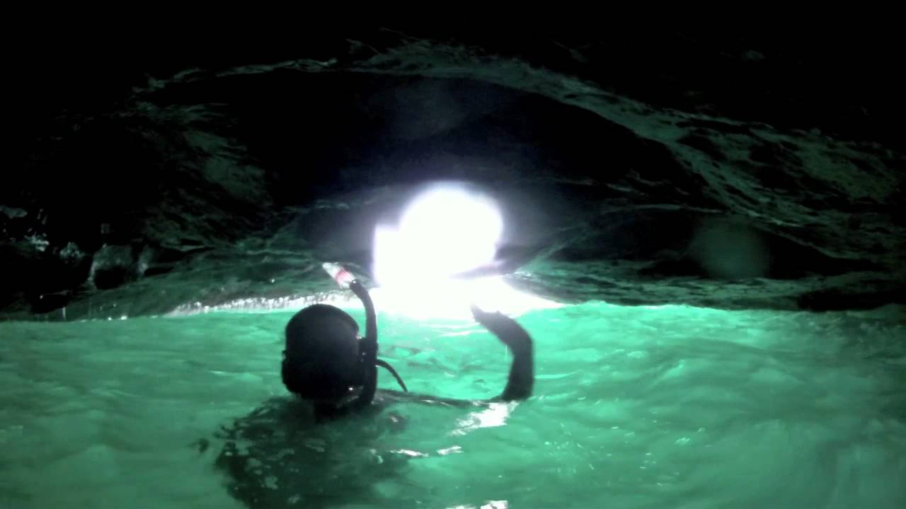 List of Synonyms and Antonyms of the Word: hidden underwater cave