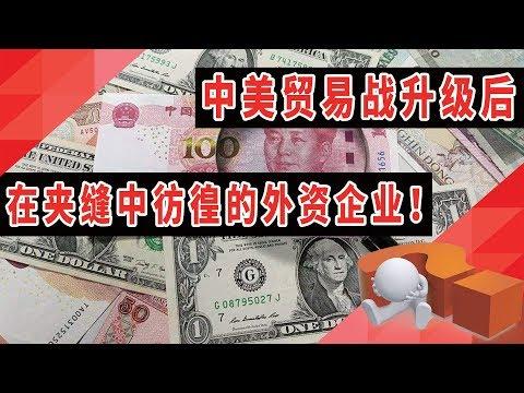 中美贸易战升级后,在夹缝中彷徨的外资企业!