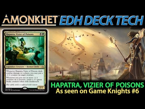 Hapatra, Vizier of Poisons Deck Tech | The Command Zone #154 | Magic EDH Commander