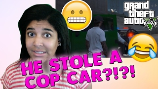 "HE STOLE A COP CAR?!?! || ITSREAL85VIDS ""GANG INITIATION: THE MAGNETICS"" REACTION!!!"
