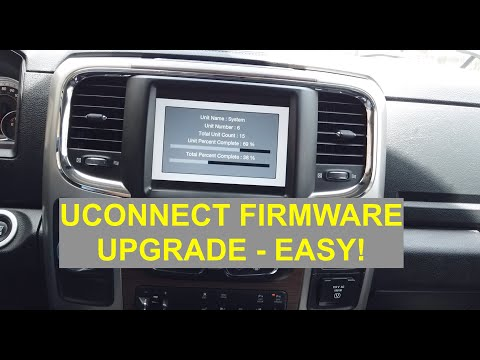 UConnect Firmware Software Upgrade For RAM 1500 (2014-2018)