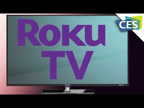 Roku's Smart TV, More Channels, No Box- CES 2014