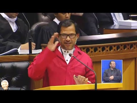 EFF Nazir Paulsen Lectures Parliament On Beverages. Funny at End