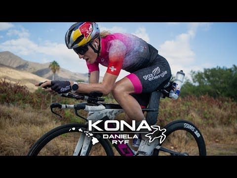 Daniela Ryf training for Kona