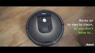 iRobot Roomba® Alexa® Skill - Give Voice Commands to your Wi-Fi enabled Roomba® Vacuum Robot