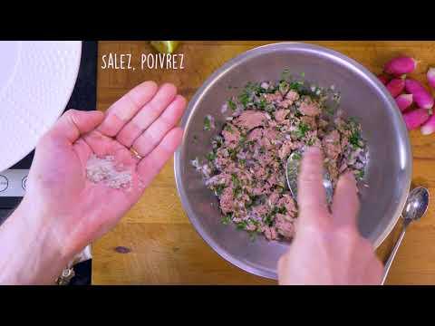 les-feuilles-de-perles-à-la-rillette-de-thon