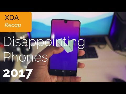 Biggest Smartphone Disappointments of 2017