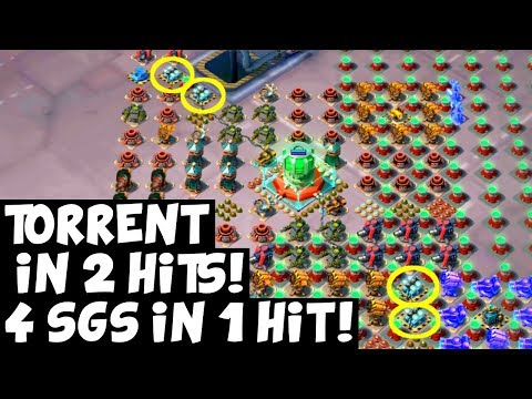 Torrent 2 Hits! ✦ 4 Shields in One Hit!...