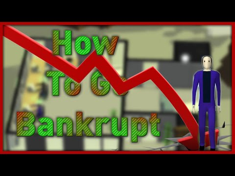 How To Go Bankrupt (Software Inc.)