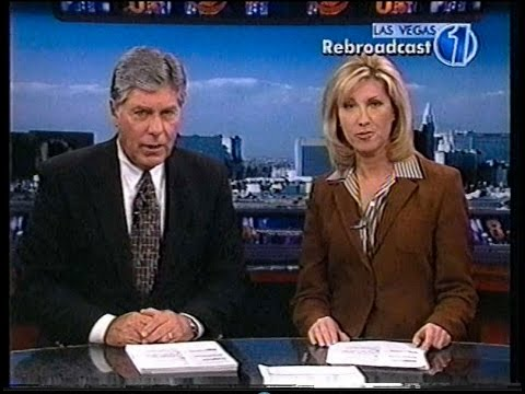 April 3 2003 Lisa Johnson & Gary Waddell KLAS Ch. 8 News, Las Vegas