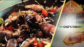 Cumi Hitam Ala Chef's Table