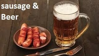 Pairing A Selection Of German & British Sausage with German & British Beer